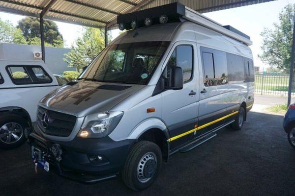2018 Mercedes-Benz Sprinter 519 CDI 4X4 FC PV Gauteng Boksburg_0