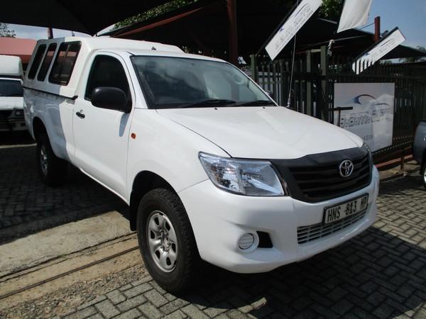 2012 Toyota Hilux 2.5 D-4d Srx Rb Pu Sc  Mpumalanga Nelspruit_0