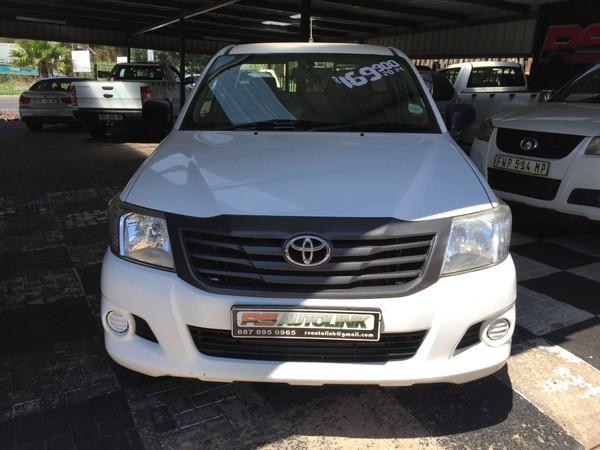 2014 Toyota Hilux 2.5 D-4d S Pu Sc  Mpumalanga Witbank_0