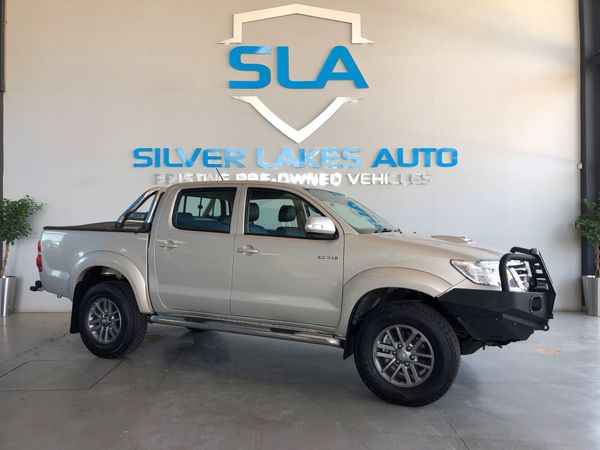 2013 Toyota Hilux 3.0 d-4D Raider Dakar 4x4 At Pu Dc Gauteng Pretoria_0