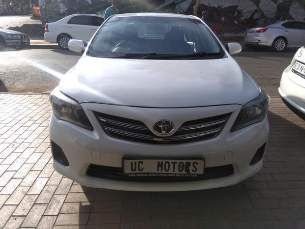 2018 Toyota Corolla Quest 1.6 Gauteng Germiston_0