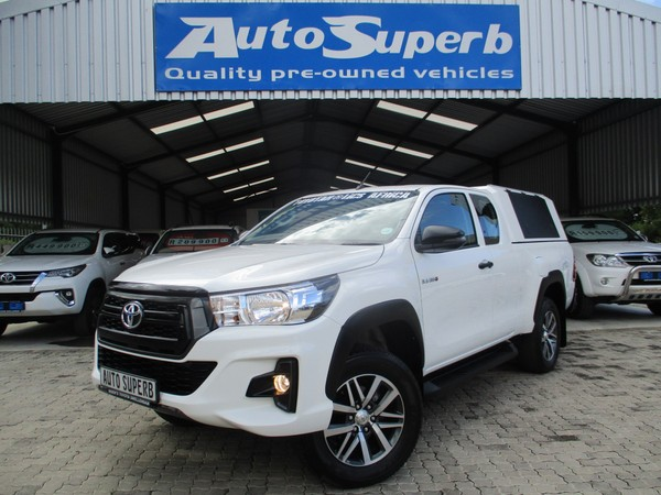 2019 Toyota Hilux 2.4 GD-6 RB SRX AT PU ECAB Western Cape Swellendam_0