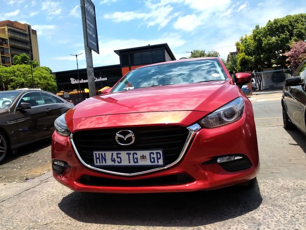 2017 Mazda 3 1.6 Dynamic 5-Door Gauteng Pretoria_0