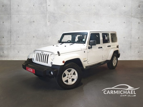 2015 Jeep Wrangler Unlimited 3.6l V6 At  Western Cape Western Cape_0