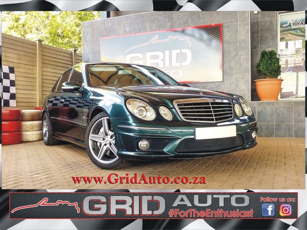 2006 Mercedes-Benz E-Class E 63 Amg  Gauteng Pretoria North_0