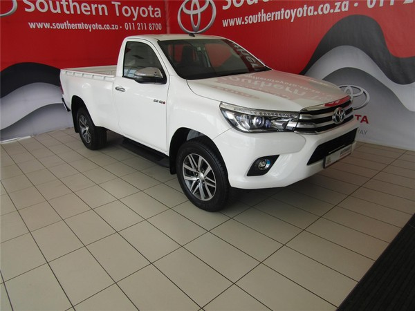 2018 Toyota Hilux 2.8 GD-6 RB Raider Single Cab Bakkie Auto Gauteng Lenasia_0