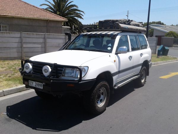 2003 Toyota Land Cruiser 100 Gx 4.2d  Western Cape Strand_0