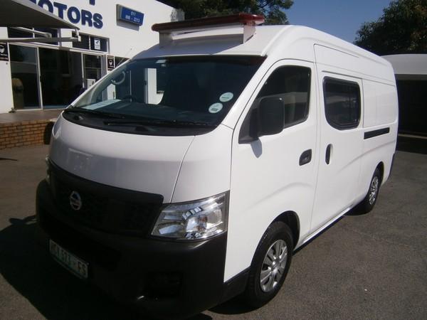 2017 Nissan NV350 Ambulance Gauteng Johannesburg_0
