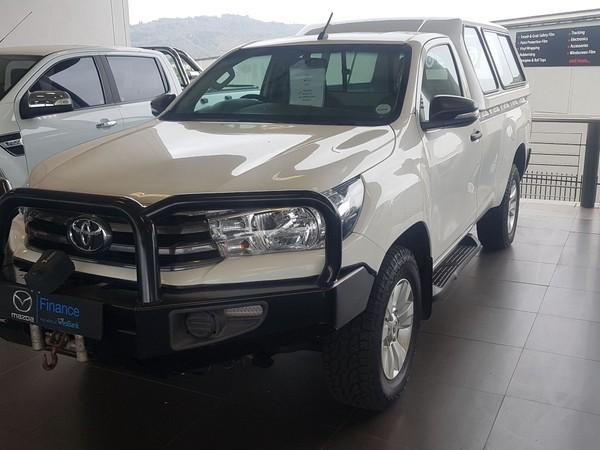2016 Toyota Hilux 2.4 GD-6 SRX 4X4 Single Cab Bakkie Gauteng Roodepoort_0