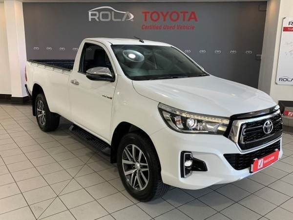 2018 Toyota Hilux 2.8 GD-6 Raider 4X4 Single Cab Bakkie Western Cape Somerset West_0