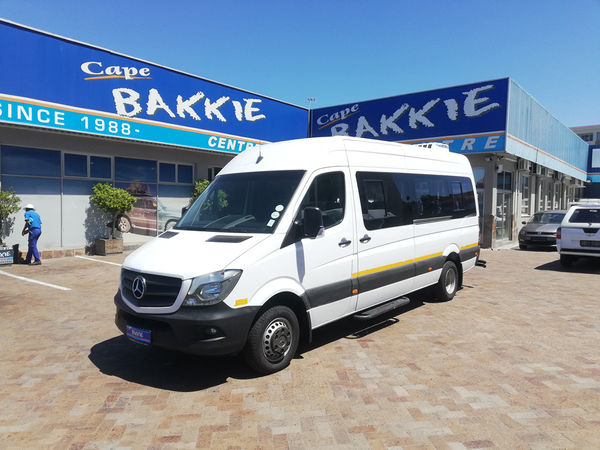2016 Mercedes-Benz Sprinter 519 CDI XL FC Panel Van Western Cape Parow_0