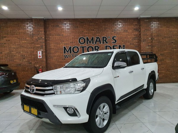 2016 Toyota Hilux 2.8 GD-6 RB Raider Double Cab Bakkie Mpumalanga Witbank_0