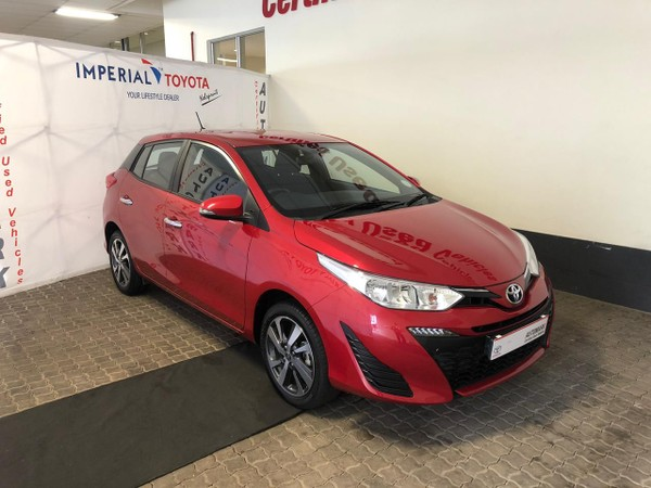 2018 Toyota Yaris 1.5 Xs CVT 5-Door Mpumalanga Nelspruit_0