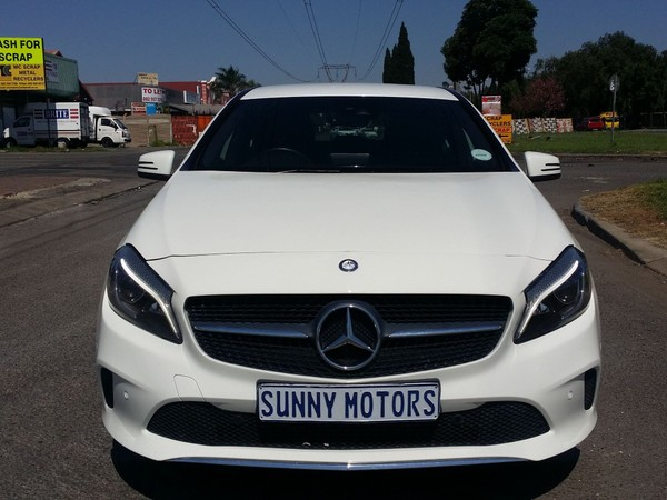 2016 Mercedes-Benz A-Class A 200 Auto Gauteng Kempton Park_0