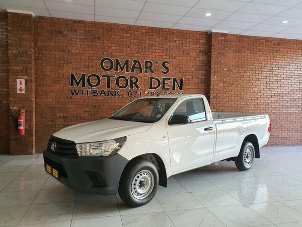 2019 Toyota Hilux 2.4 GD AC Single Cab Bakkie Mpumalanga Witbank_0