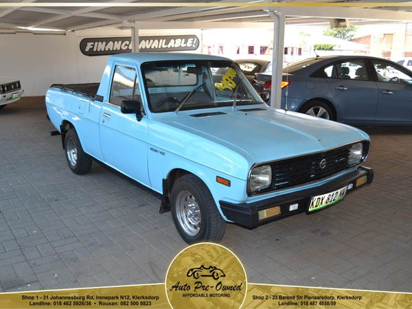 1989 Nissan 1400 Bakkie Std 5 Speed 408 Pu Sc  North West Province Klerksdorp_0