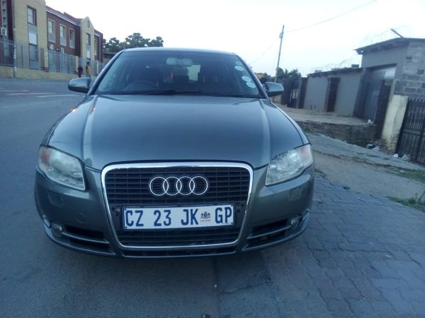 2007 Audi A4 2.0 Multitronic  Gauteng Johannesburg_0