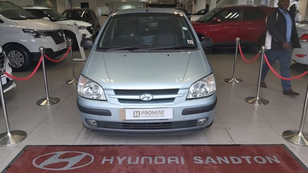 2005 Hyundai Getz 1.3 Ac  Gauteng Sandton_0