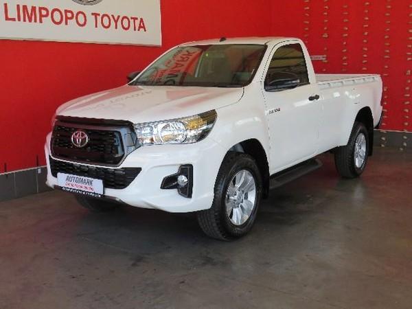 2019 Toyota Hilux 2.4 GD-6 RB SRX Auto Single Cab Bakkie Limpopo Polokwane_0