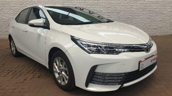 2018 Toyota Corolla 1.6 Prestige Gauteng Boksburg_0