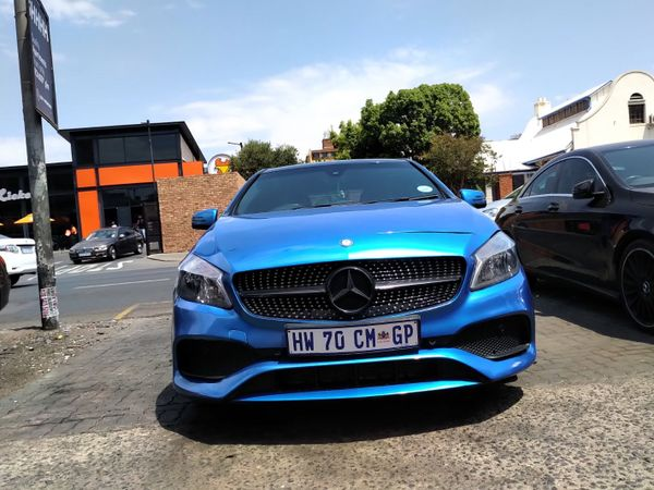 2015 Mercedes-Benz A-Class A 200 Avantgarde At  Gauteng Pretoria_0