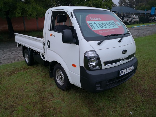 2015 Kia K2700 Workhorse PU CC Gauteng Roodepoort_0