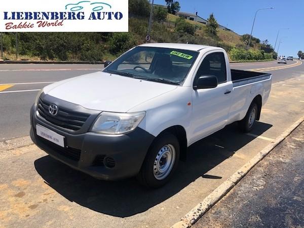 2012 Toyota Hilux 2.0 Vvti Pu Sc  Western Cape Cape Town_0