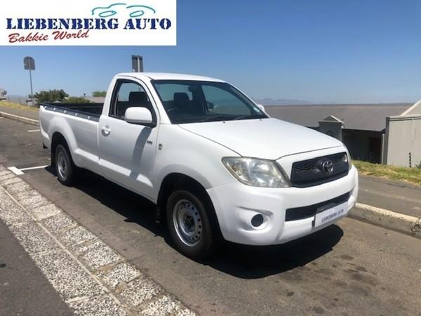 2010 Toyota Hilux 2.0 Vvti Pu Sc  Western Cape Cape Town_0