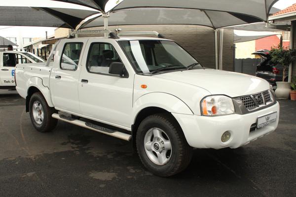 2008 Nissan NP300 Hardbody 2.4i HiRider k13k31 Bakkie Double cab Gauteng Johannesburg_0