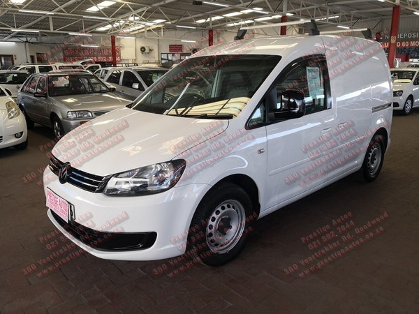 2012 Volkswagen Caddy 1.6i 75kw Fc Pv  Western Cape Goodwood_0
