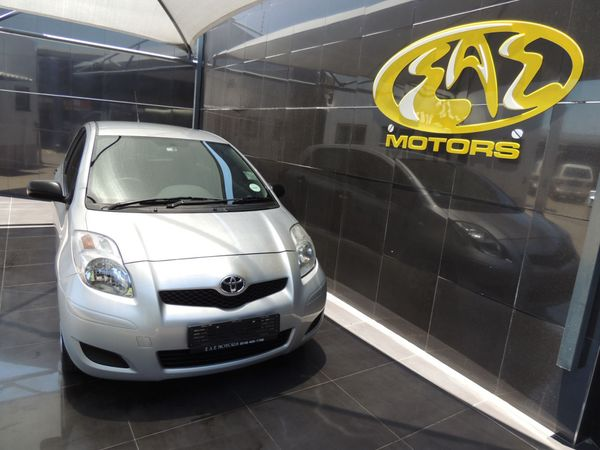 2011 Toyota Yaris Zen3 Gauteng Vereeniging_0