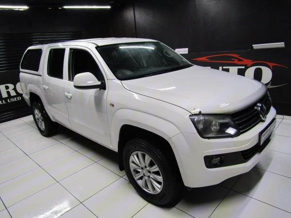 2013 Volkswagen Amarok 2.0tdi Trendline 90kw Dc Pu  Gauteng Boksburg_0