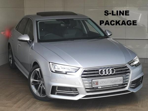 2016 Audi A4 2.0TFSi S-LINE AUTO  Gauteng Randburg_0