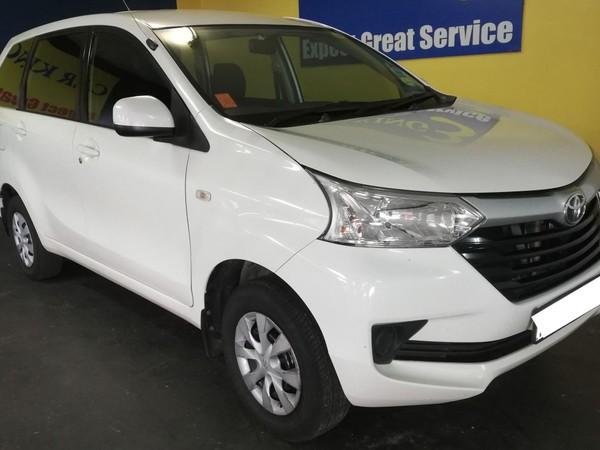 2016 Toyota Avanza 1.5 SX Gauteng Roodepoort_0