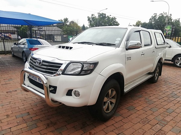 2010 Toyota Hilux 3.0d-4d Heritage Rb At Pu Dc  Gauteng Bramley_0