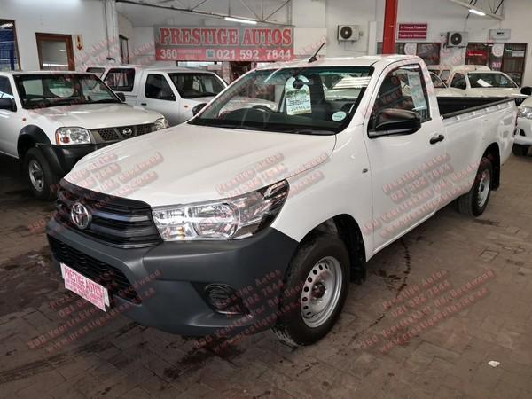 2018 Toyota Hilux 2.4 GD AC Single Cab Bakkie Western Cape Goodwood_0
