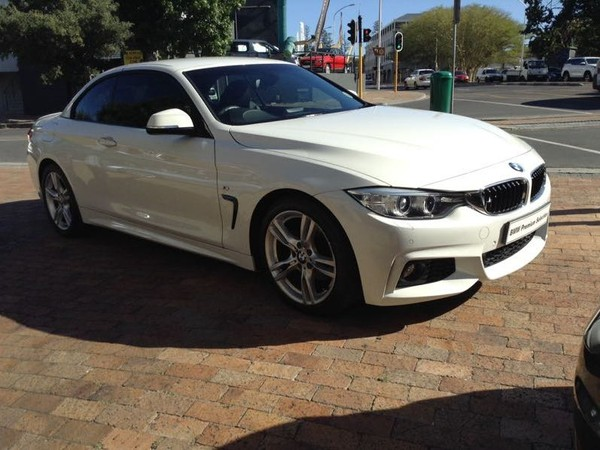 2015 BMW 4 Series 420i Convertible Auto Western Cape Claremont_0