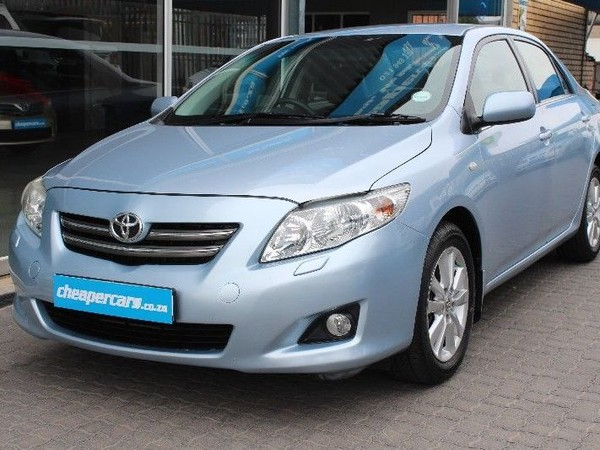 2009 Toyota Corolla Toyota Corolla 1.8 Exclusive At Western Cape Bellville_0
