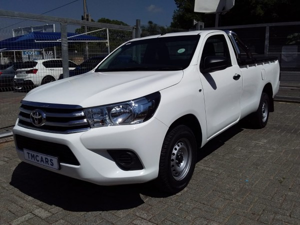 2018 Toyota Hilux 2.0 Vvti Pu Sc  Gauteng Bramley_0
