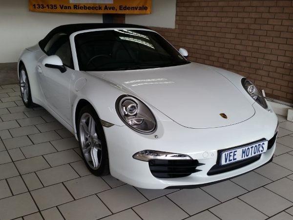 2013 Porsche 911 Carrera Cabriolet Pdk  Gauteng Edenvale_0