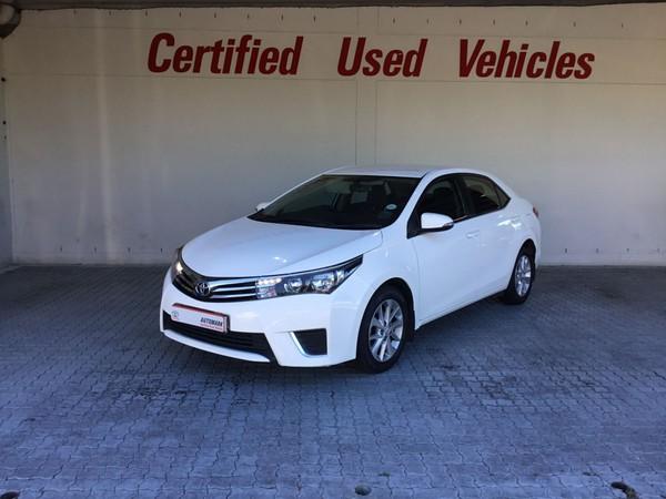 2017 Toyota Corolla 1.6 Prestige CVT Western Cape Goodwood_0