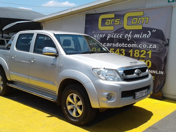 2009 Toyota Hilux 2.7 Vvti Raider Rb Pu Dc  Gauteng Pretoria_0