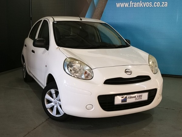 2014 Nissan Micra 1.2 Visia Insync 5dr d86v  Western Cape Somerset West_0