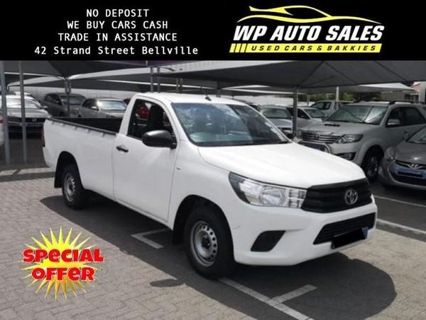 2017 Toyota Hilux 2.4 GD Single Cab Bakkie Western Cape Bellville_0