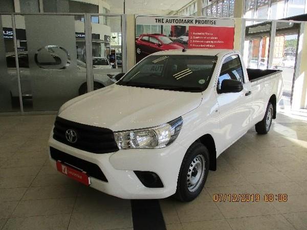 2016 Toyota Hilux 2.0 VVT Single Cab Bakkie Western Cape Cape Town_0