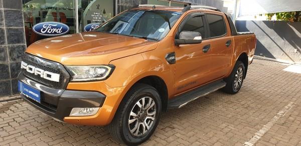 2016 Ford Ranger 3.2TDCi 3.2 WILDTRAK 4X4 Auto Double Cab Bakkie Limpopo Mokopane_0