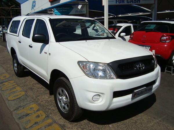 2010 Toyota Hilux 2.5d-4d Srx 4x4 Pu Dc  Gauteng Pretoria_0