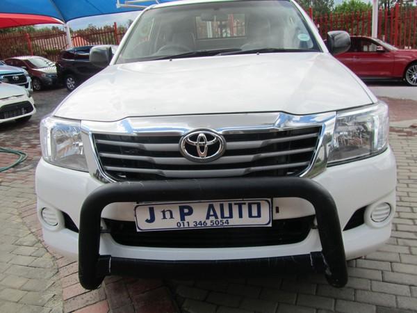 2011 Toyota Hilux 2.5 D-4d Srx Rb Pu Sc  Gauteng Bramley_0