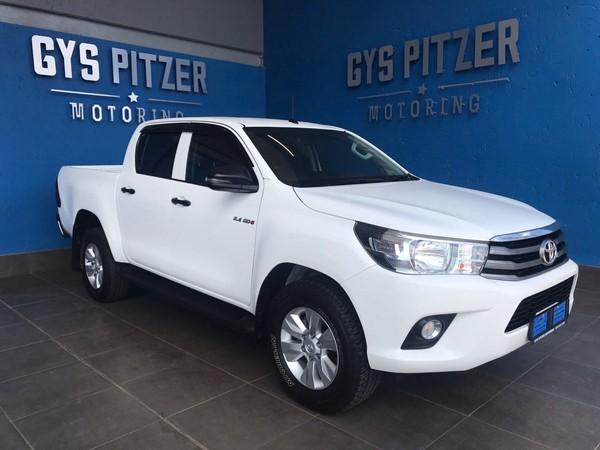 2018 Toyota Hilux 2.4 GD-6 SRX 4x4 Double Cab Bakkie Gauteng Pretoria_0