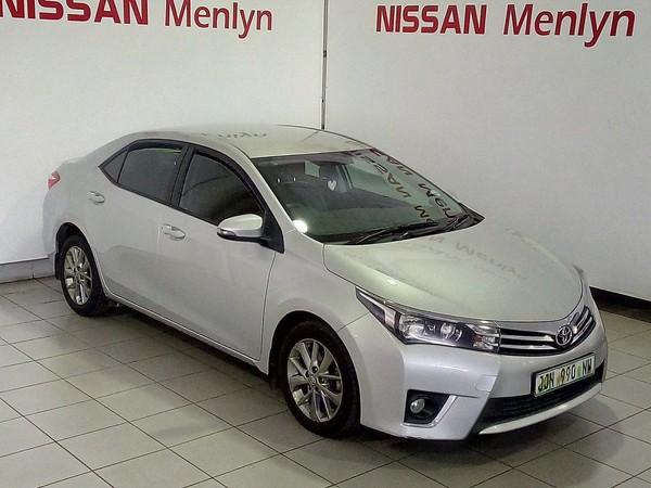 2015 Toyota Corolla 1.6 Sprinter Gauteng Pretoria_0